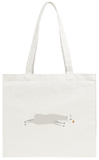 Sleeping Llama Tote Bag Tote Bag by  popaukropa