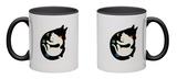 More Hugs Less Fights Mug Mug by Andy Westface