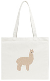 Cute Knitted Alpaca Tote Bag Tote Bag by  slowcentury