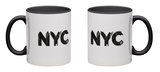 NYC Mug Mug by Robert Farkas