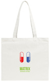 Red Pill or Blue Pill Tote Bag Tote Bag by David Brodsky