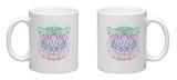 Polygonal Abstract Tiger Silhouette Mug Mug by  vanillamilk