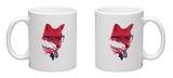 American Fox Mug Mug by Robert Farkas