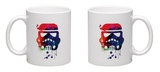 Starship Trooper Watercolor Cartoon Mug Mug by Lora Feldman