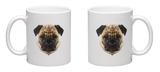 Pug Mug Mug by Lora Kroll