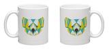 Abstract Koala Mug Mug by  vanillamilk