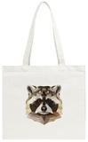 Raccoon Tote Bag Tote Bag by Lora Kroll