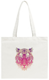 Polygonal Tiger Graphic Design. Tote Bag Tote Bag by  Kundra