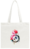 BB8 Watercolor 1 Tote Bag Tote Bag by Lora Feldman