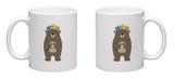Be Brave Mug by Andy Westface