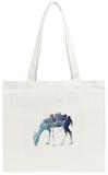 City Deer Tote Bag Tote Bag by Robert Farkas