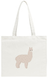 Cute Alpaca Tote Bag Tote Bag by  slowcentury