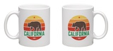California Grizzly Bear Mug Mug by  rikkyal
