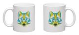 Abstract Wolf Mug Mug by  vanillamilk