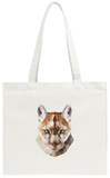 Mountain Lion Tote Bag Tote Bag by Lora Kroll