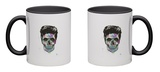 Color Your Death Mug Mug by Balazs Solti