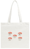 Funny Sushi Tote Bag Tote Bag by Anastasia Crowley