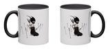Odi Et Amo Mug Mug by Ruben Ireland