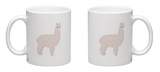 Cute Alpaca Mug Mug by  slowcentury