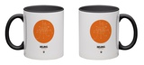 Beijing Orange Subway Map Mug Mug by  NaxArt