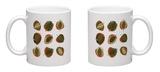 Monstera Leafs Mug Mug by  Mything