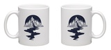 River of Stars Flows from the Mountains Mug Mug by  intueri