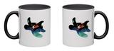 Ocean Roaming Mug Mug by Andy Westface