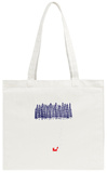 Alone in the Forest Tote Bag Tote Bag by Robert Farkas