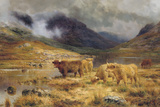 After the Storm Giclee Print by Louis Bosworth Hurt