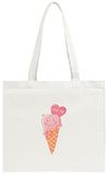 Funny Ice Cream, Love Me Tote Bag Tote Bag by  Inna_Queen