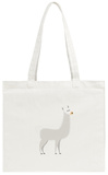 Llama Tote Bag Tote Bag by  popaukropa