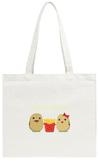 Potato Family Tote Bag Tote Bag by  Solar22