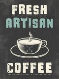 Fresh Coffee Giclee Print by Tom Frazier