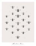 Meadow Bees Impressão giclée por Maria Mendez