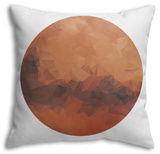 Planet Mars Throw Pillow Throw Pillow by  gn8