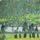 Waldabhang In Unterach Am Attersee Giclee Print by Gustav Klimt