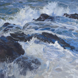 Crashing Waves Giclee Print by Julian Askins