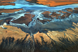California Aerial - the Desert from Above Photographic Print by Tanja Ghirardini