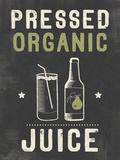 Organic Juice Giclee Print by Tom Frazier