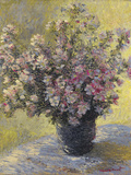 Vase Of Flowers Giclée-tryk af Claude Monet