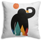 Papa Throw Pillow Throw Pillow by Andy Westface