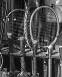 Vintage Sport - Tennis Giclee Print by Assaf Frank