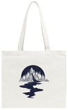 River of Stars Flows from the Mountains Tote Bag Tote Bag by  intueri