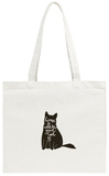 Home is Where Your Cat Is Tote Bag Tote Bag by  _VectorStory_