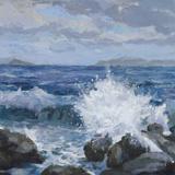 Breaking Shore Giclee Print by Julian Askins
