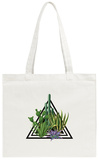 Cacti and Succulents Tote Bag Tote Bag by  incomible