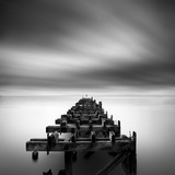 Ruined Pier Photographic Print by George Digalakis
