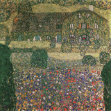 Country House By The Attersee Giclee Print by Gustav Klimt