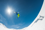 Backcountry Backflip Photographic Print by Eric Verbiest
