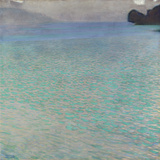 On Lake Attersee, 1900 Gicléedruk van Gustav Klimt